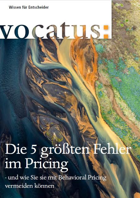 Cover Page for Vocatus Magazine